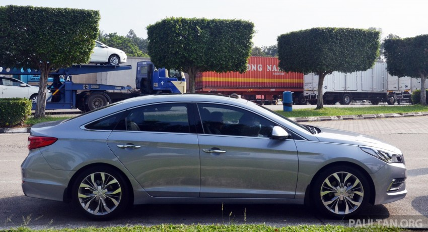 DRIVEN: Hyundai Sonata LF 2.0 Executive tested Image #301427