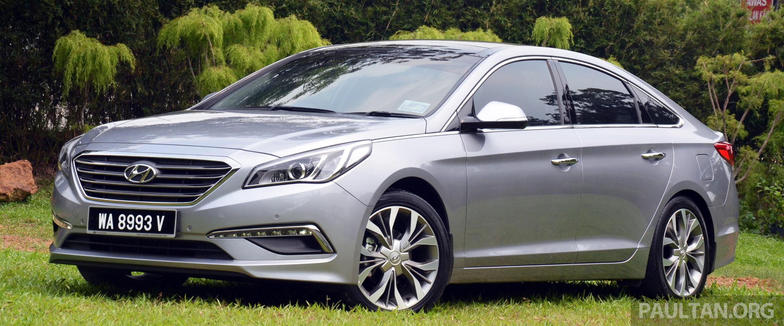 Driven Hyundai Sonata Lf 2 0 Executive Tested Paul Tan