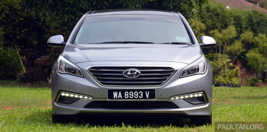 DRIVEN: Hyundai Sonata LF 2.0 Executive tested Image #301403