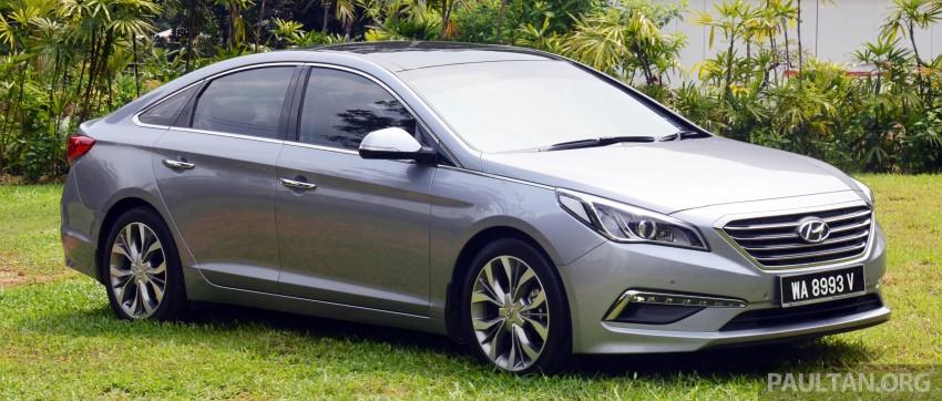 DRIVEN: Hyundai Sonata LF 2.0 Executive tested Image #301404