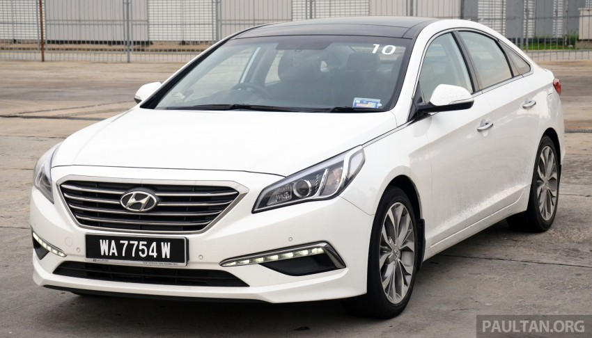 DRIVEN: Hyundai Sonata LF 2.0 Executive tested Image #301410