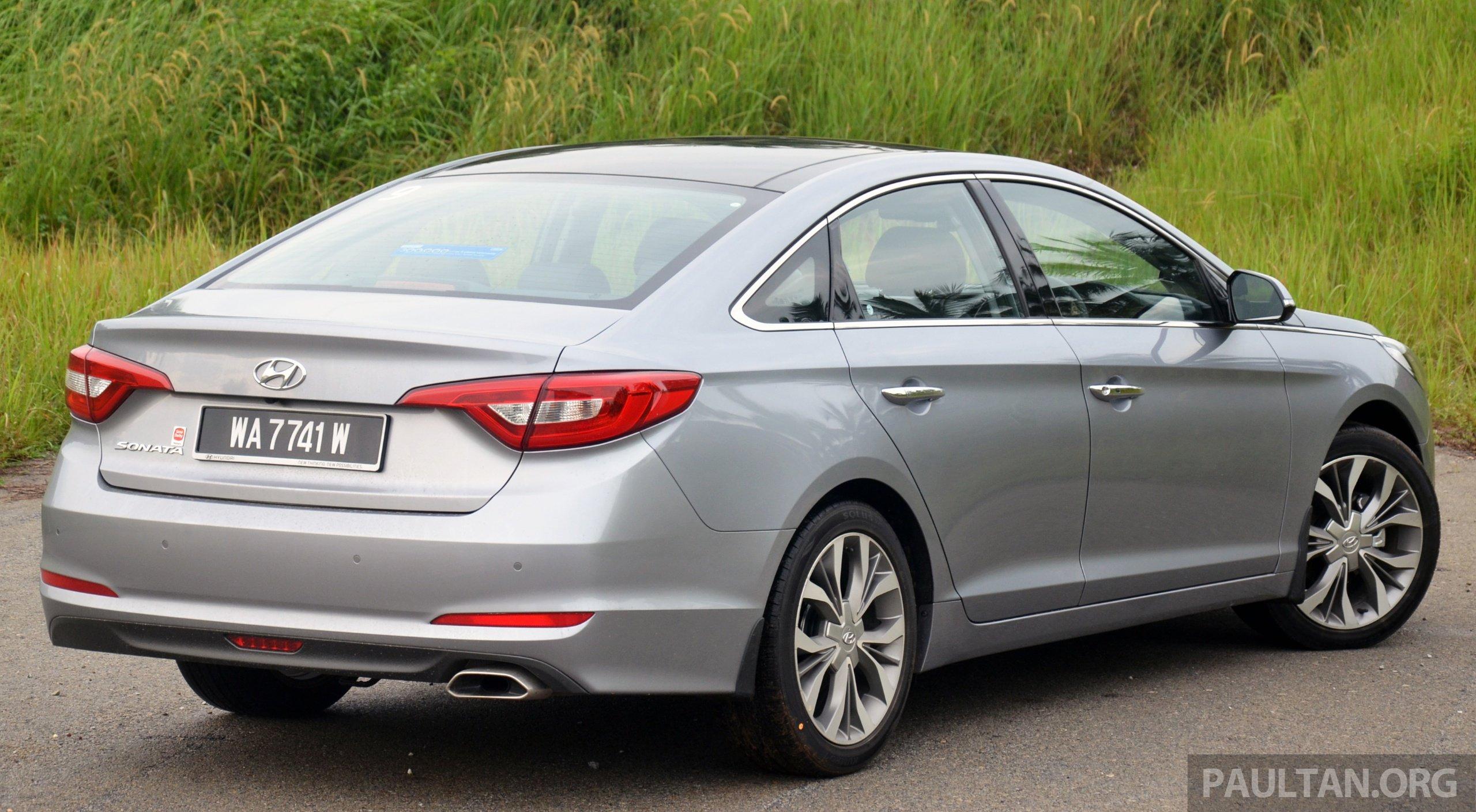 Driven Hyundai Sonata Lf 2 0 Executive Tested Image 301414