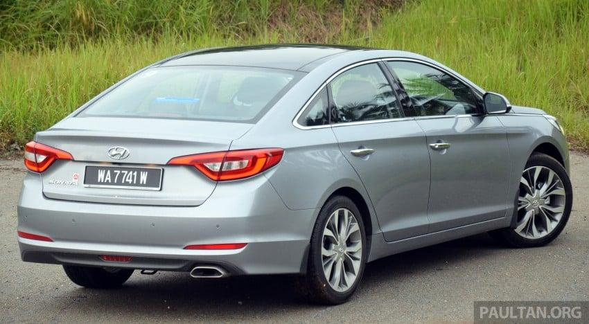 DRIVEN: Hyundai Sonata LF 2.0 Executive tested Image #301417