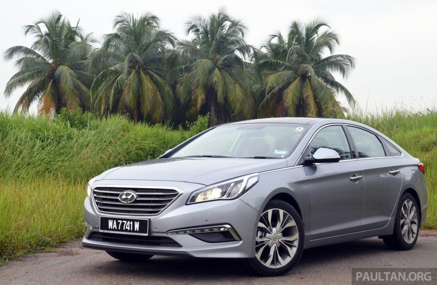 DRIVEN: Hyundai Sonata LF 2.0 Executive tested Image #301419