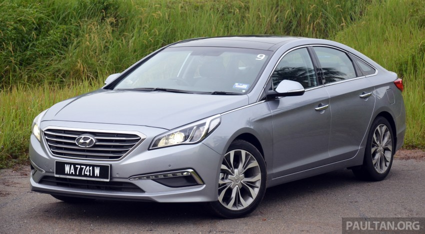 DRIVEN: Hyundai Sonata LF 2.0 Executive tested Image #301420