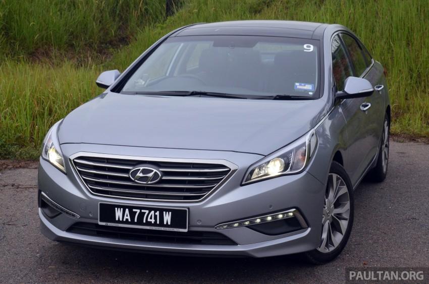 DRIVEN: Hyundai Sonata LF 2.0 Executive tested Image #301422