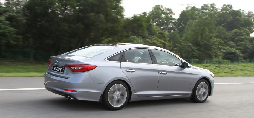 DRIVEN: Hyundai Sonata LF 2.0 Executive tested Image #301493