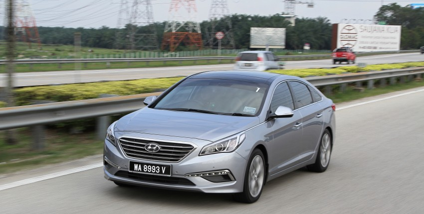DRIVEN: Hyundai Sonata LF 2.0 Executive tested Image #301502