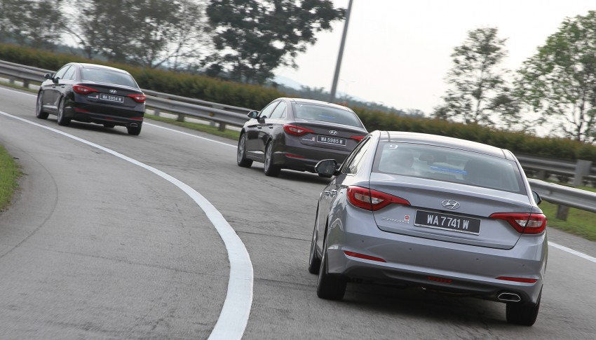 DRIVEN: Hyundai Sonata LF 2.0 Executive tested Image #301506