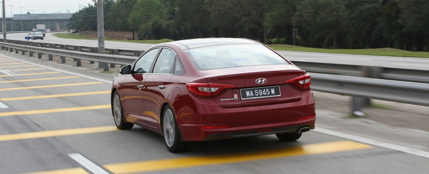 DRIVEN: Hyundai Sonata LF 2.0 Executive tested Image #301507