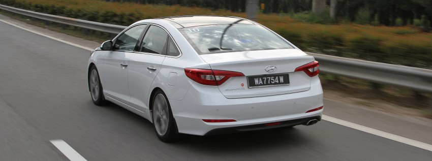 DRIVEN: Hyundai Sonata LF 2.0 Executive tested Image #301508