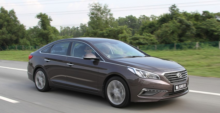 DRIVEN: Hyundai Sonata LF 2.0 Executive tested Image #301494