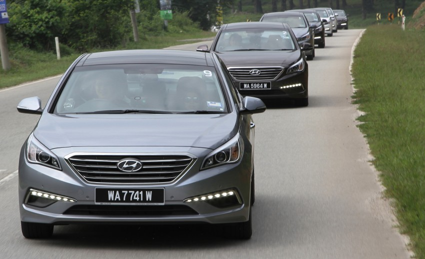 DRIVEN: Hyundai Sonata LF 2.0 Executive tested Image #301514
