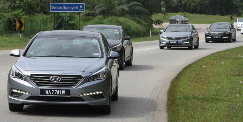 DRIVEN: Hyundai Sonata LF 2.0 Executive tested Image #301516
