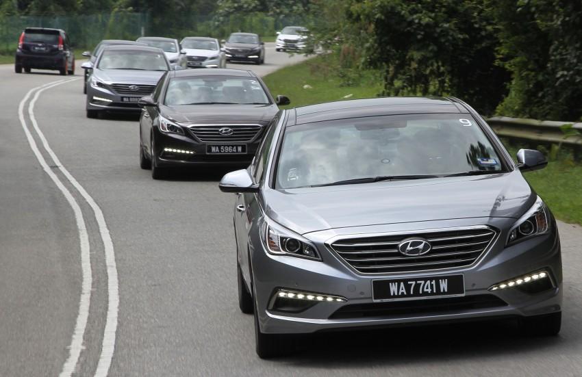 DRIVEN: Hyundai Sonata LF 2.0 Executive tested Image #301518