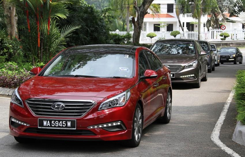 DRIVEN: Hyundai Sonata LF 2.0 Executive tested Image #301520