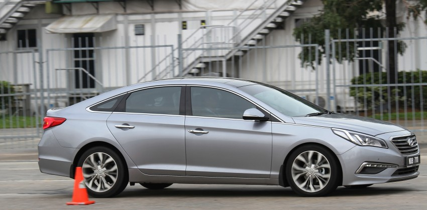 DRIVEN: Hyundai Sonata LF 2.0 Executive tested Image #301523