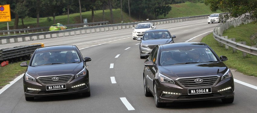 DRIVEN: Hyundai Sonata LF 2.0 Executive tested Image #301496