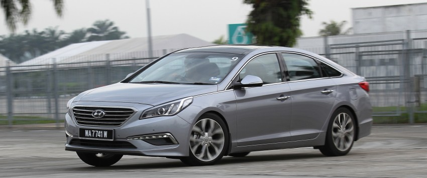 DRIVEN: Hyundai Sonata LF 2.0 Executive tested Image #301532