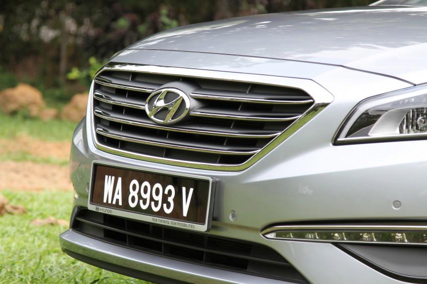 DRIVEN: Hyundai Sonata LF 2.0 Executive tested Image #301487