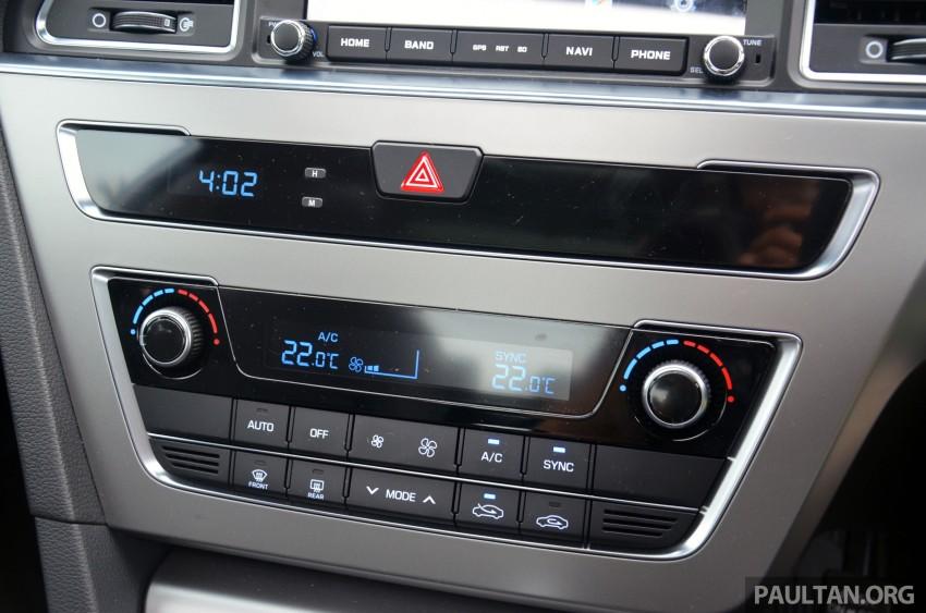 DRIVEN: Hyundai Sonata LF 2.0 Executive tested Image #301447