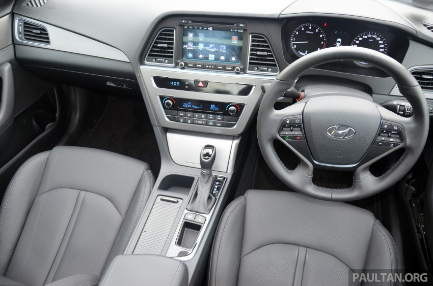 DRIVEN: Hyundai Sonata LF 2.0 Executive tested Image #301448