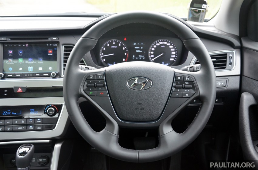 DRIVEN: Hyundai Sonata LF 2.0 Executive tested Image #301455