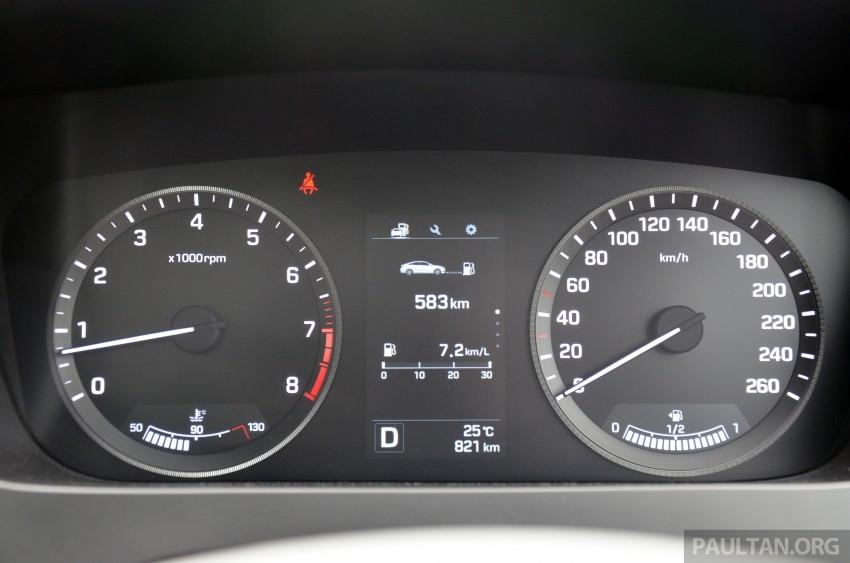 DRIVEN: Hyundai Sonata LF 2.0 Executive tested Image #301464