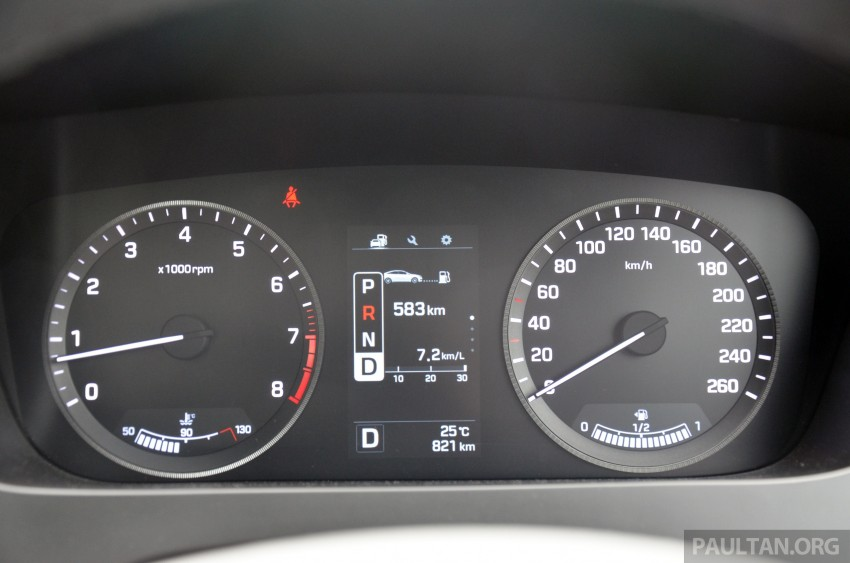 DRIVEN: Hyundai Sonata LF 2.0 Executive tested Image #301465