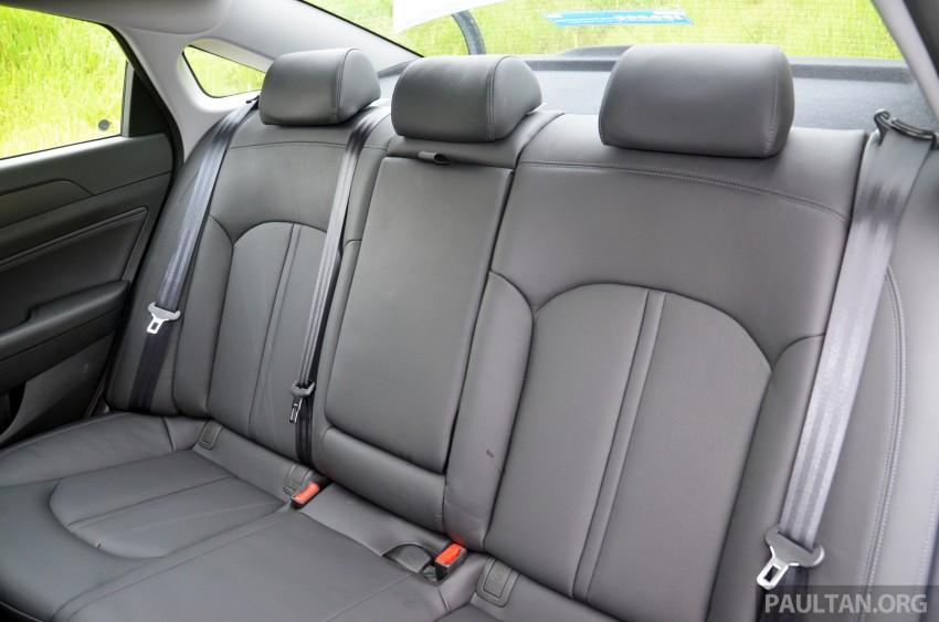 DRIVEN: Hyundai Sonata LF 2.0 Executive tested Image #301468