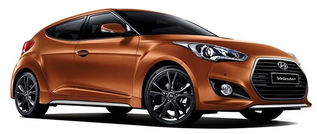 hyundai veloster turbo facelift out gets 7 speed dct. Black Bedroom Furniture Sets. Home Design Ideas