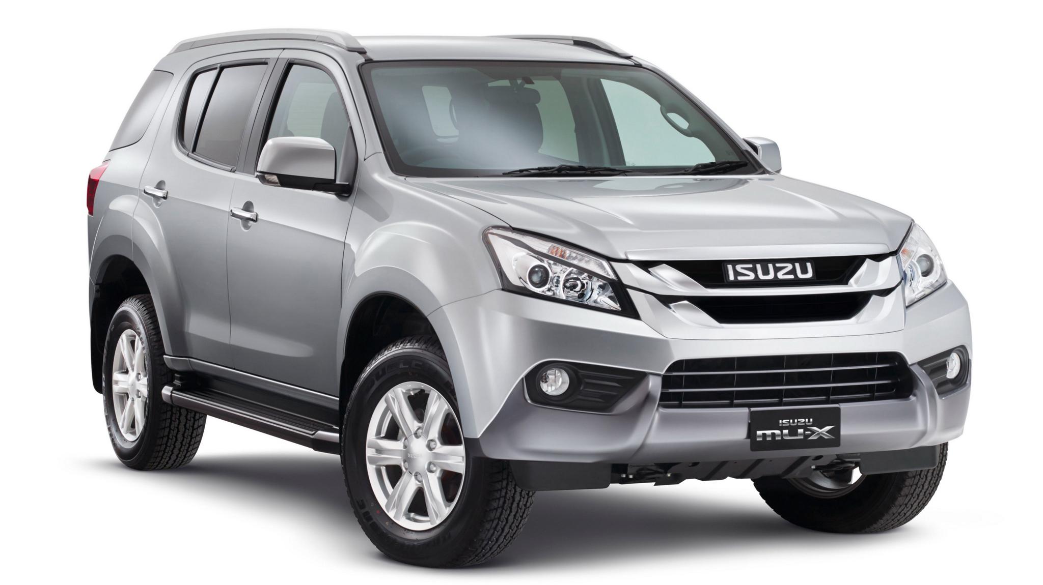 Isuzu Dmax 2018 >> Isuzu MU-X launching this year, CBU Thailand – COO Image 304933