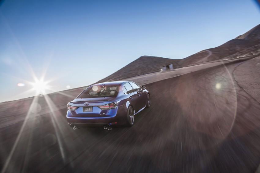 Lexus GS F –  477 PS super sedan makes Detroit debut Image #308192