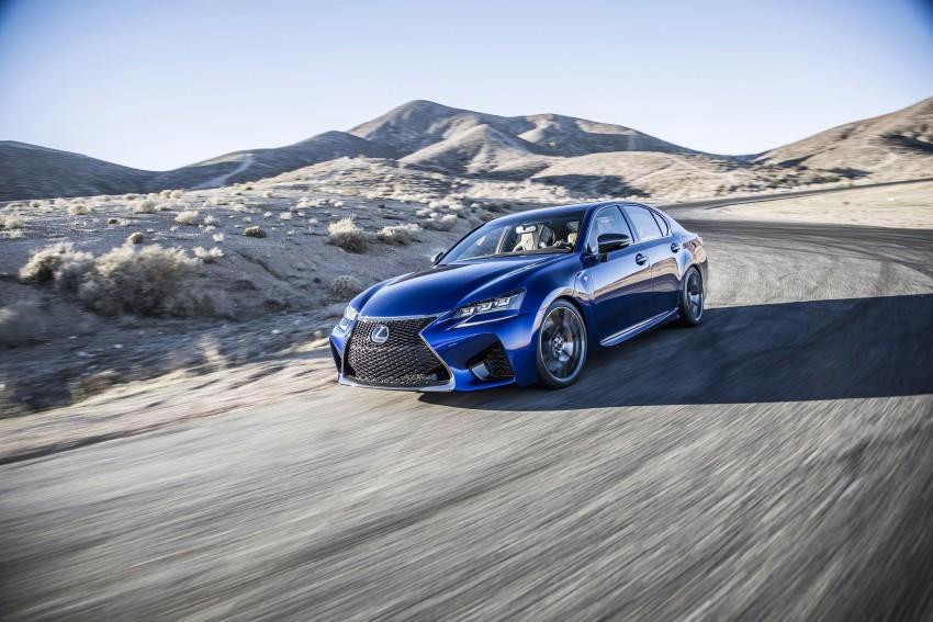 Lexus GS F –  477 PS super sedan makes Detroit debut Image #308197