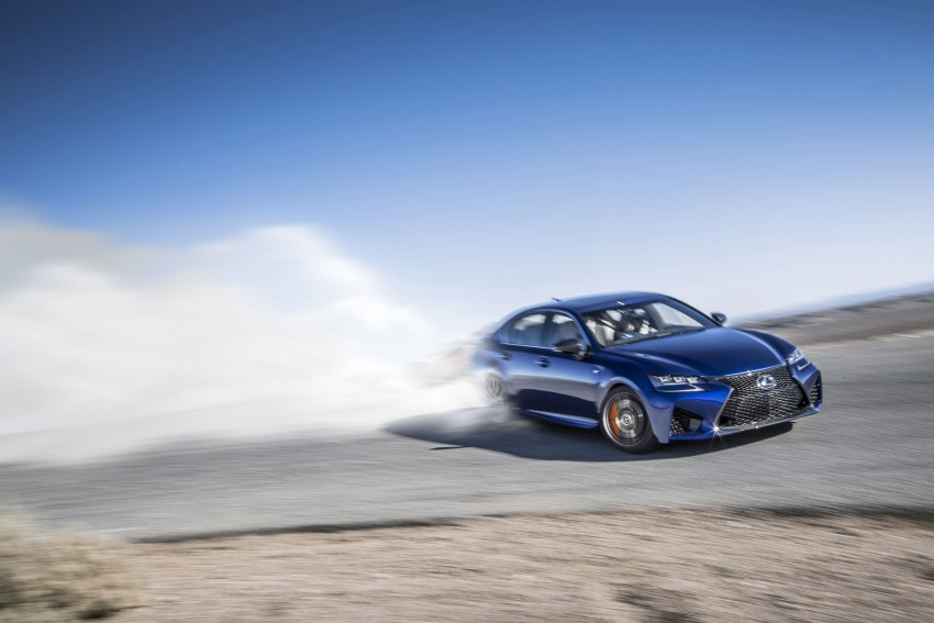 Lexus GS F –  477 PS super sedan makes Detroit debut Image #308205