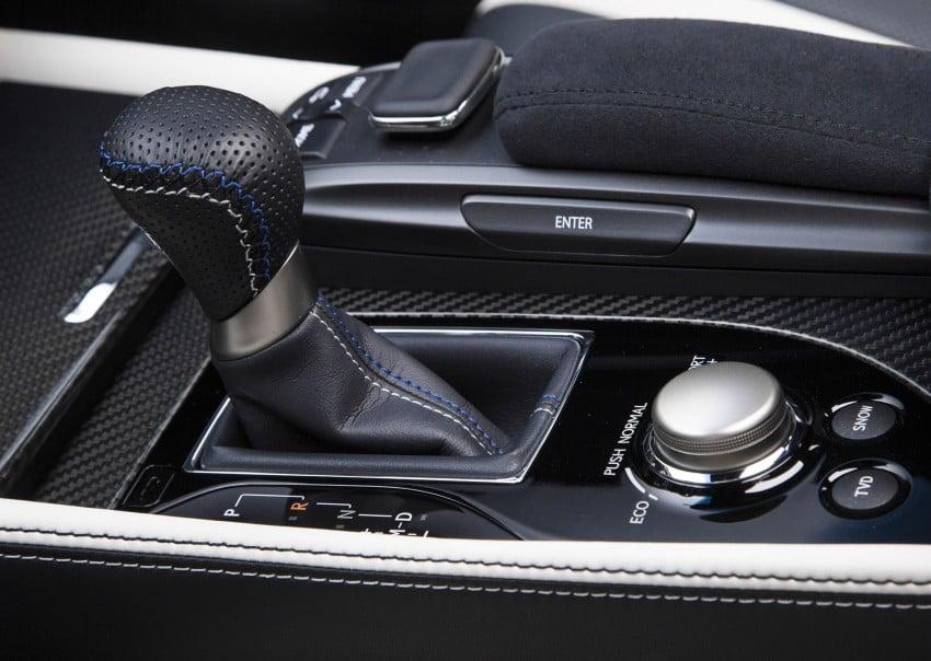 Lexus GS F –  477 PS super sedan makes Detroit debut Image #308207