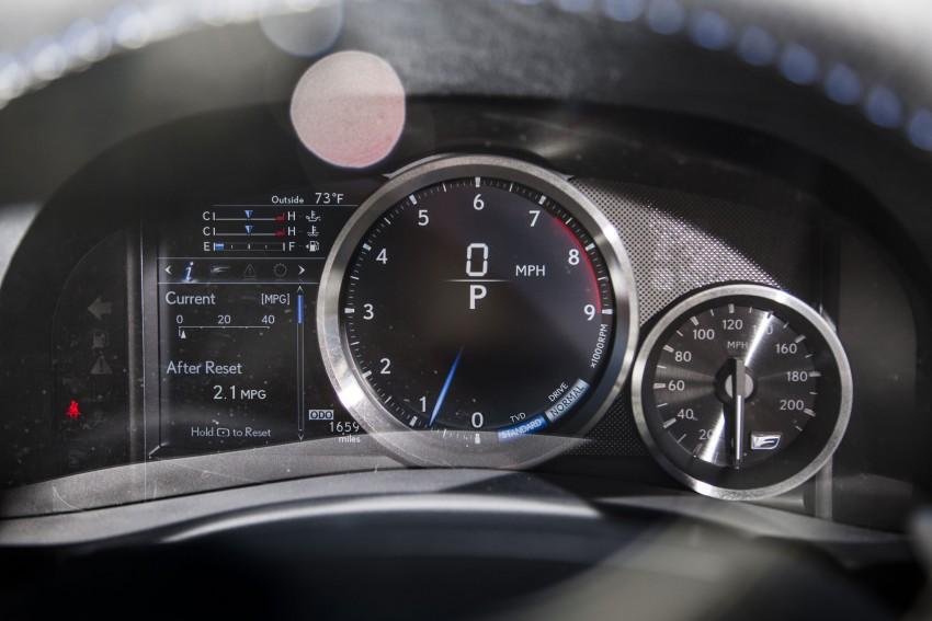 Lexus GS F –  477 PS super sedan makes Detroit debut Image #308213