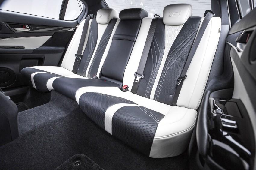 Lexus GS F –  477 PS super sedan makes Detroit debut Image #308217