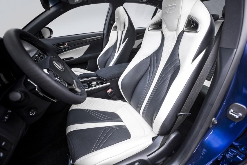 Lexus GS F –  477 PS super sedan makes Detroit debut Image #308219
