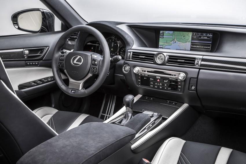 Lexus GS F –  477 PS super sedan makes Detroit debut Image #308222