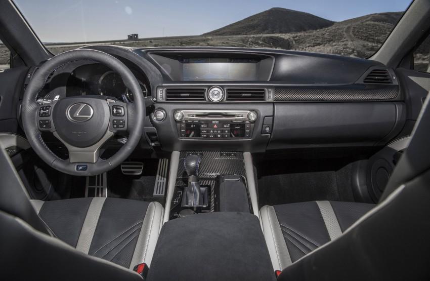 Lexus GS F –  477 PS super sedan makes Detroit debut Image #308224