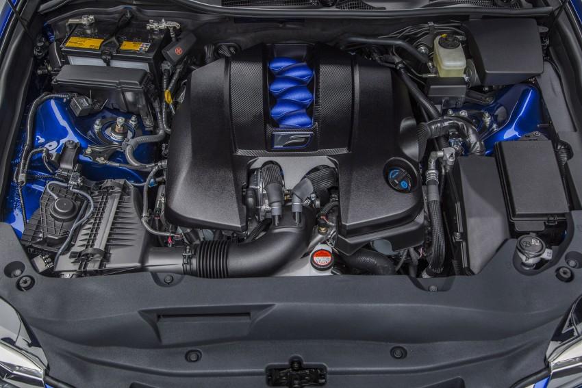 Lexus GS F –  477 PS super sedan makes Detroit debut Image #308225