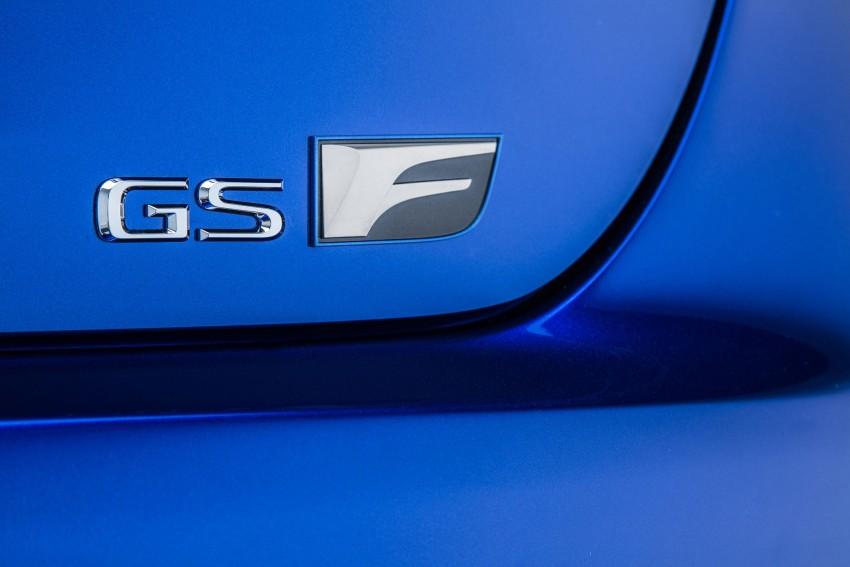 Lexus GS F –  477 PS super sedan makes Detroit debut Image #308231