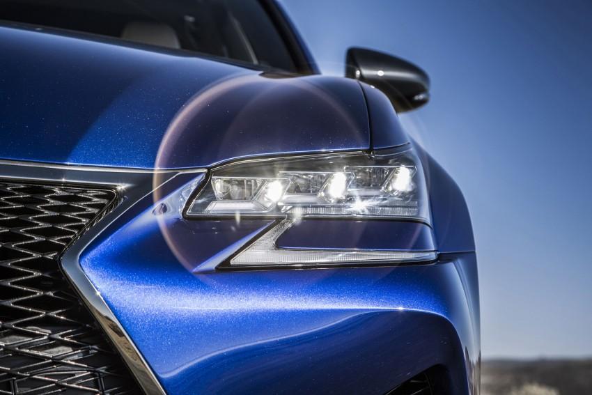 Lexus GS F –  477 PS super sedan makes Detroit debut Image #308239