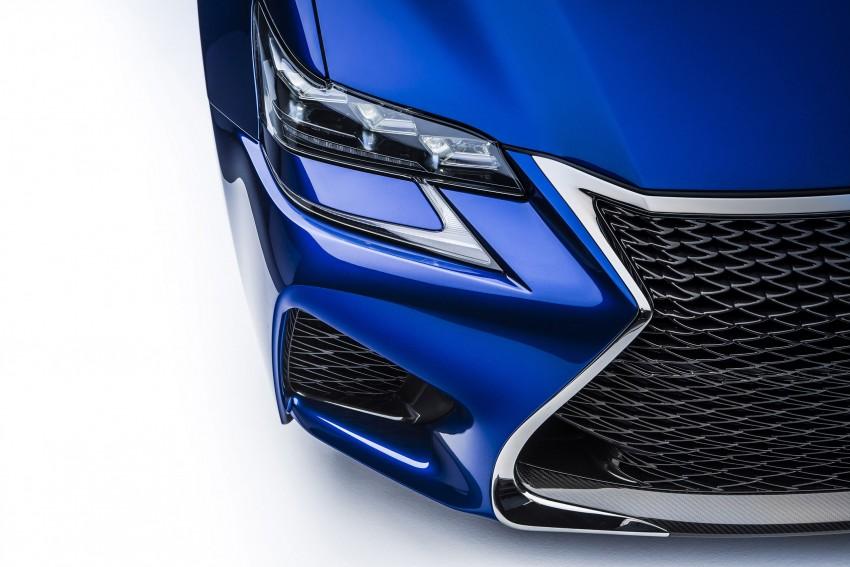 Lexus GS F –  477 PS super sedan makes Detroit debut Image #308241