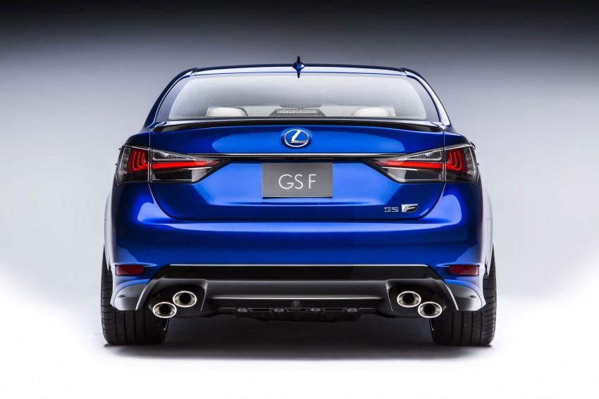Lexus GS F –  477 PS super sedan makes Detroit debut Image #308243