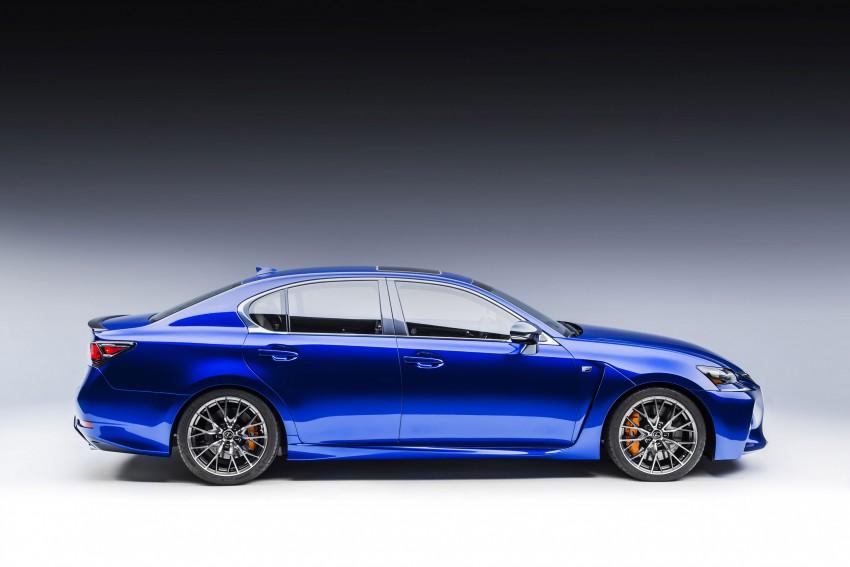 Lexus GS F –  477 PS super sedan makes Detroit debut Image #308244