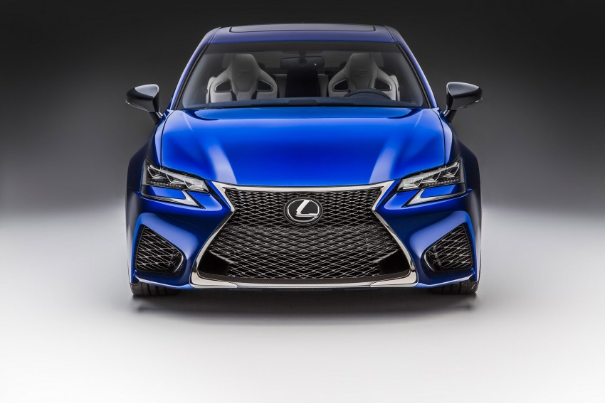Lexus GS F –  477 PS super sedan makes Detroit debut Image #308248