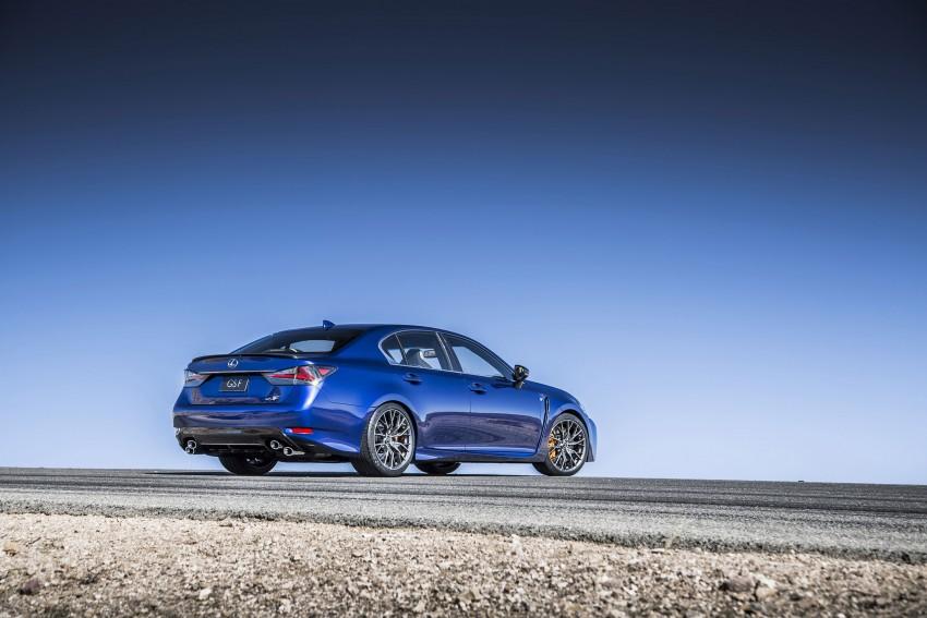 Lexus GS F –  477 PS super sedan makes Detroit debut Image #308252
