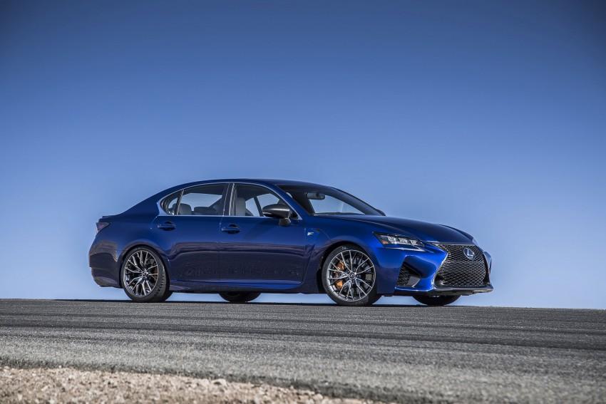 Lexus GS F –  477 PS super sedan makes Detroit debut Image #308254